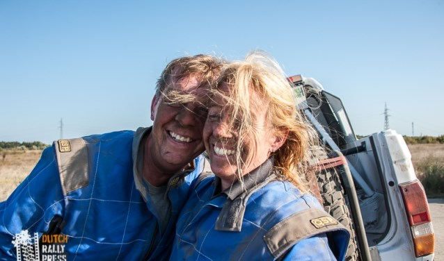 Pierre Statz en Miranda van der Zalm. (Foto: Dutch Rally Press – Niels Hatzman)