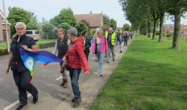 De vredeswandeling vertrekt op donderdag 20 september om 13.30 uur vanaf de protestante kerk in Vlijmen.