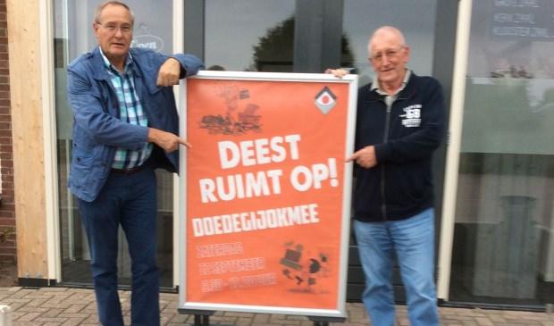 Ger de Heus (links) en Jo van der Velden. (Foto Mariet Franken)