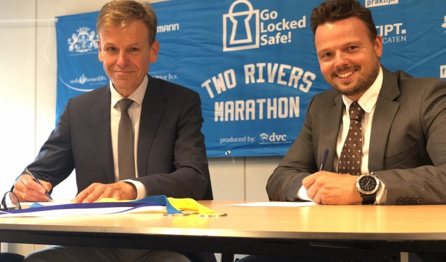 Hoofdsponsor Locked Safe heeft de samenwerking met Two Rivers Marathon dit jaar verlengd.