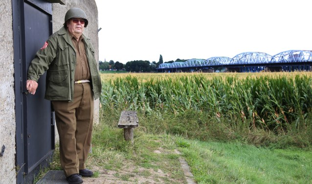 Evert Vos is al jarenlang de initiatiefnemer van de herdenking. (foto: Marco van den Broek)