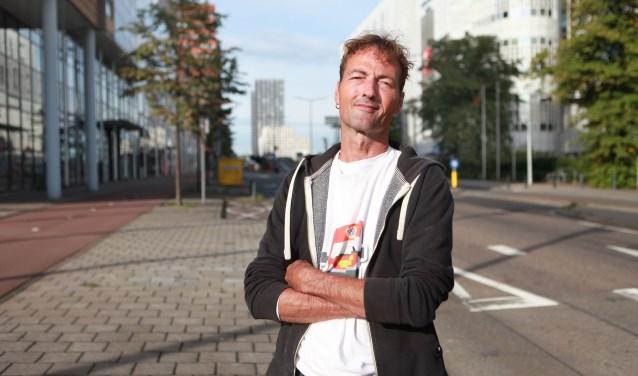 """Den Haag is veel sympathieker"""", zegt Martijn Goosen (Foto: Peter van Zetten)."""
