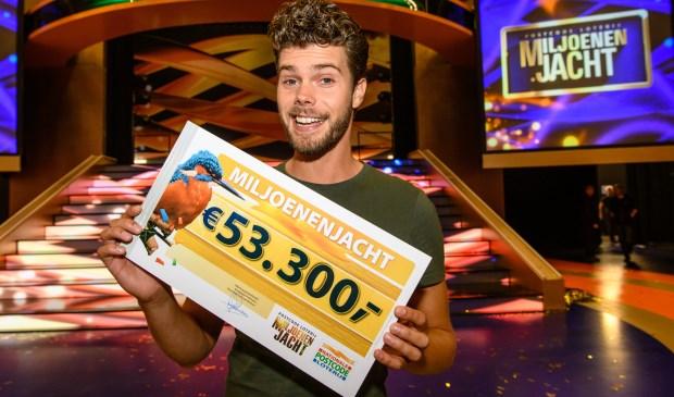 Tim uit Zierikzee wint 53.300 euro in tv-show Miljoenenjacht