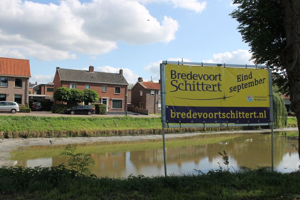 Overal wordt volop reclame gemaakt voor de jubileum-editie van Bredevoort Schittert (1968-2018). Dit evenement vindt altijd plaats in het laatste weekend van september. Dit jaar op 28, 29 en 30 september. Foto: Leo van der Linde © Persgroep