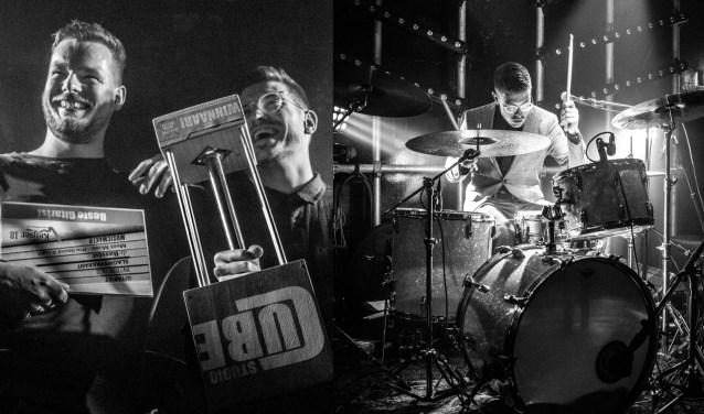 Bluesrockduo Paramatman, bestaande uit zanger/gitarist Koen Jacobs (links) en drummer Jeroen Wagtmans, won vorig jaar de Bossche Band Battle. Foto: Roosframboos Fotografie.
