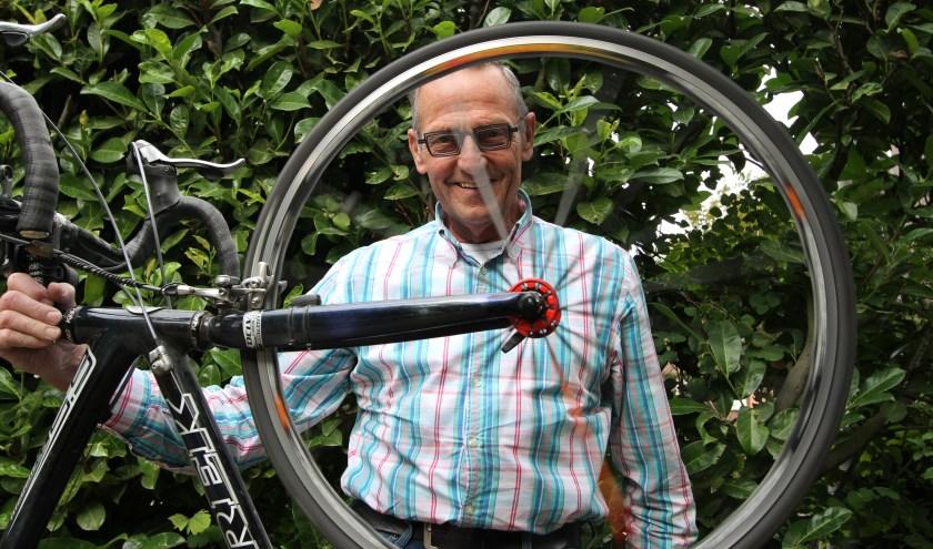 Voorzitter van Babantia Harry Colsters is blij met de stijgende populariteit van het fietsen.