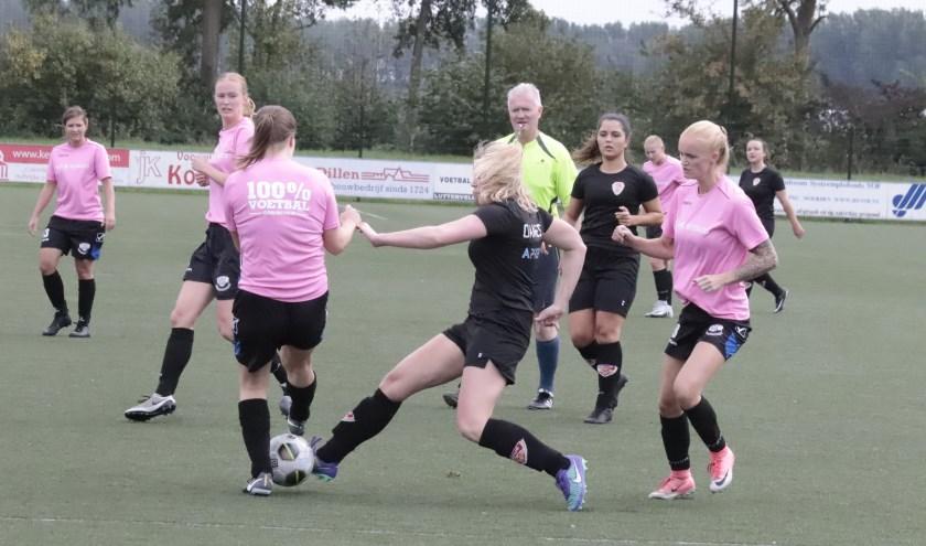 Er kwam geen winnaar uit de vrouwenderby tussen Vriendenschaar en Focus '07.
