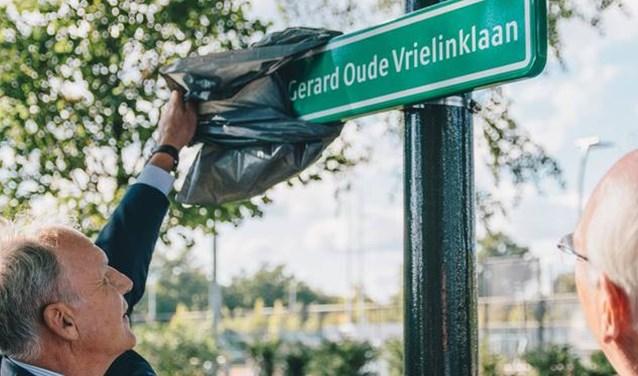 'Parkadviseur' Gerard Oude Vrielink weet niet wat hem overkomt.