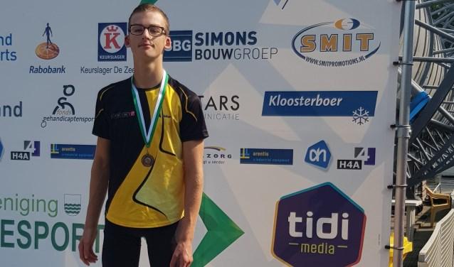 SPRINT-lid Jordan Beute is een van de genomineerden voor de titel 'Sporttalent van het Jaar'. Je kunt tot 23 september op hem stemmen.