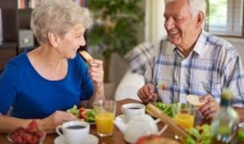 Donderdag 20 september wordt door Seniorwijs een bijeenkomst gehouden over gezond ouder worden.