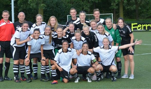 VV Maarssen VR1 pakte met 10-0 uit in de eerste bekerwedstrijd. Foto: Jorgos Theteroglou