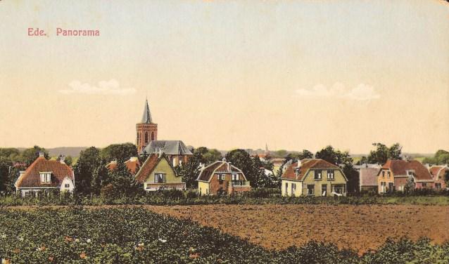 Panorama op Ede. (Foto: Corn. Hartgers, Coll. Hartgers)