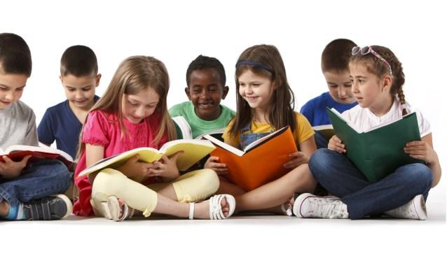 Onder meer kinderboeken zijn in de aanbieding