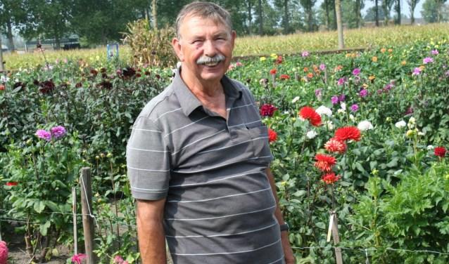 Voorzitter Jan Mettler haalt net als alle leden veel vreugde uit het tuinieren. Foto: Wendy van Lijssel