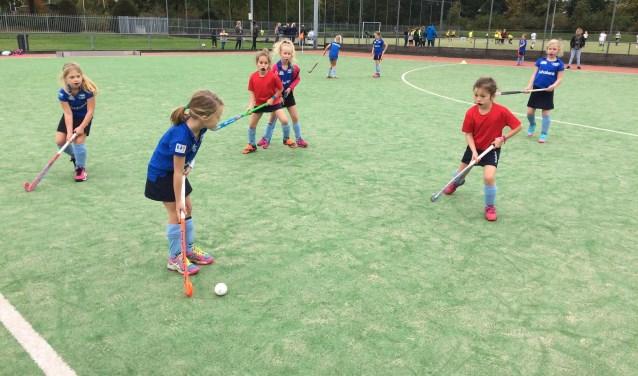 Hockeykampioenschappen voor basisschoolleerlingen in de gemeente Heusden en Engelen op woensdag 10 oktober.
