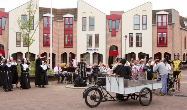 Tijdens de 11 Dorpentoer worden in de hele gemeente Montferland diverse activiteiten gehouden. Op de foto hierboven Zeddam. (foto:  Ilse Bekker)