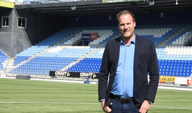 Jeroen van Leeuwen is als algemeen manager terug bij de club waar hij in zijn jeugdjaren al twee seizoenen voetbalde.