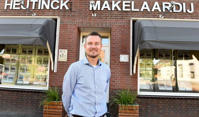 Ondernemer van de week: Leander Heutinck. (foto: Roel Kleinpenning)