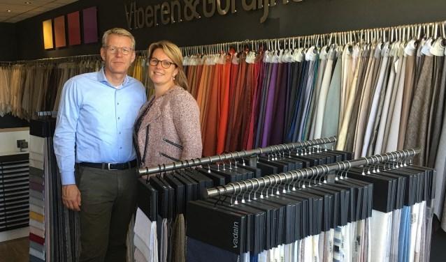 Eric-Jaap en Belinda van Oenen, de eigenaren van ZonEx, laten hetjubileum niet onopgemerkt voorbij gaan.