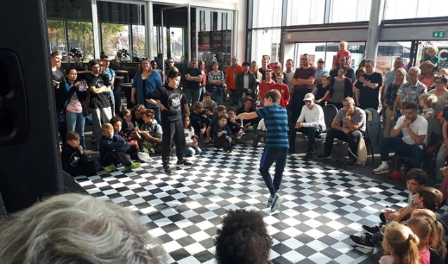 Breakdance battle tijdens Urban Matterz. Foto: Deamer.