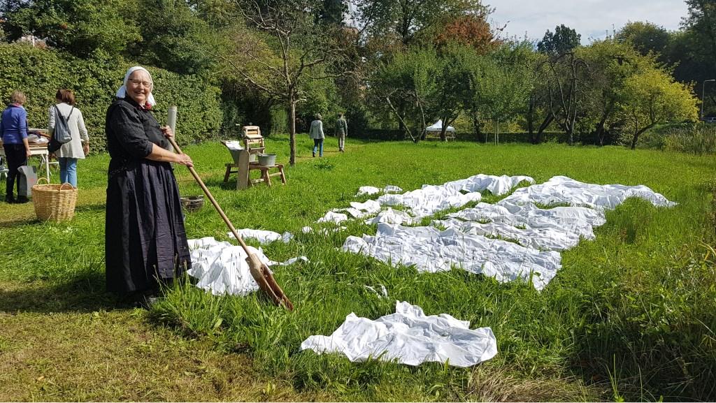 Wasdame op de Bleek. Foto: Brigiet Bluiminck © Persgroep