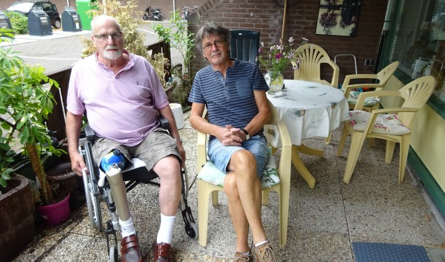 Hans Barth uit Sliedrecht is maatje voor zijn plaatsgenoot Evert Castelein. (Foto: Eline Lohman)