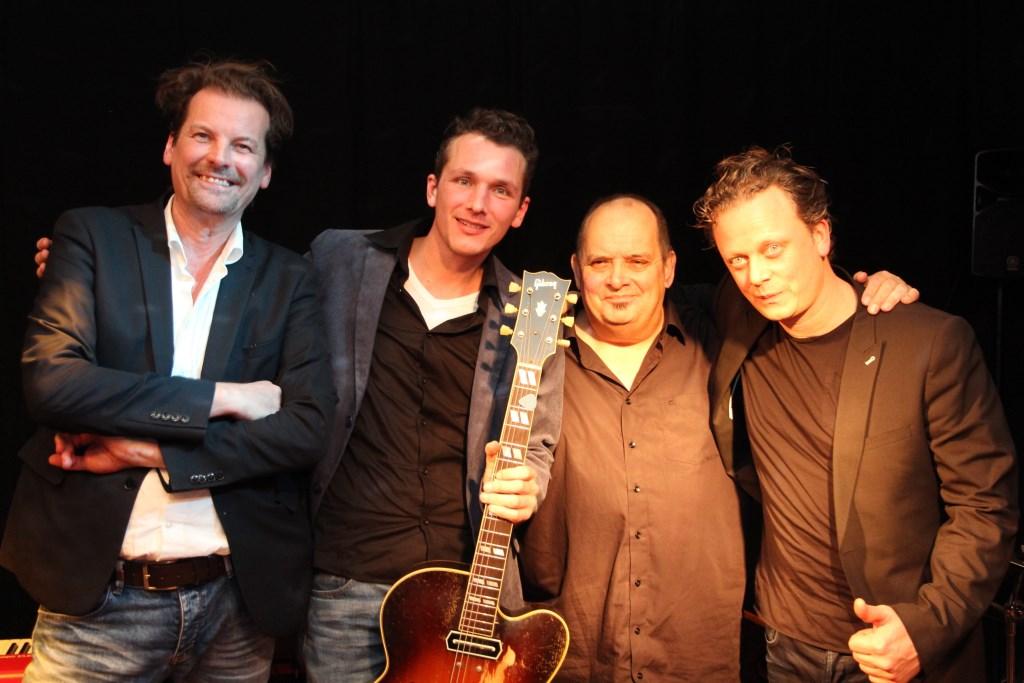 Hans Kwakkernaat, Joost Zoeteman, Hans Mantel en Wim de Vries.