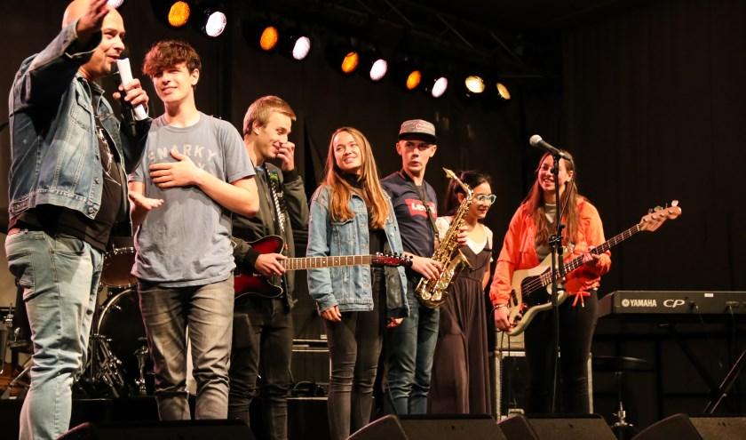 Jongerenbands bij Battle of the bands