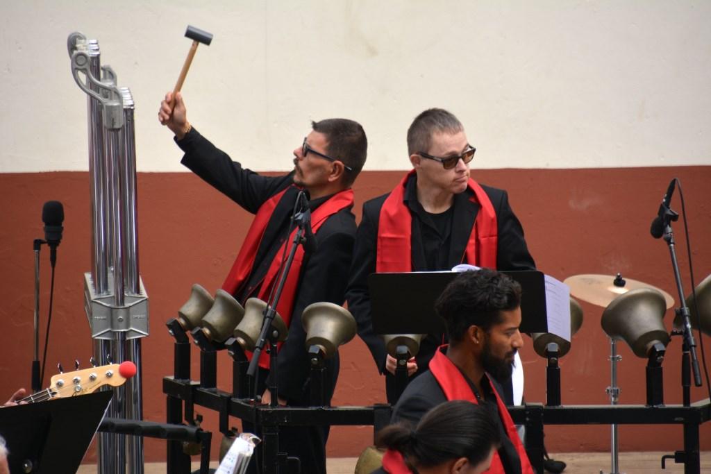 De Jostiband heeft gezellige en spraakzame orkestleden. Foto: Archeon © Persgroep