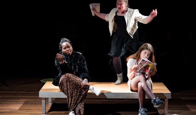 Volg onder meer theaterlessen tijdens de doe mee week in de Muzehof. Foto: Marije van den Berg