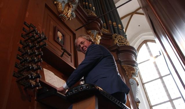 Organist Wim Magré