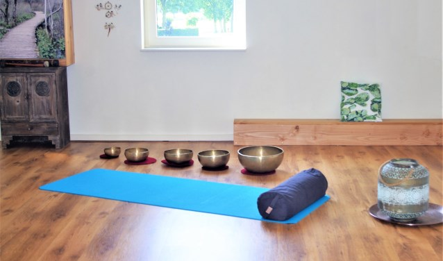 fragment: Yoga studio Love What You Do op 't Harde