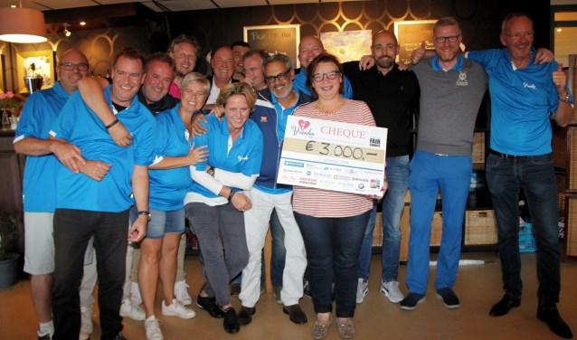 Het toernooi leverde 3000 euro voor Fair Chance op. Foto: PR