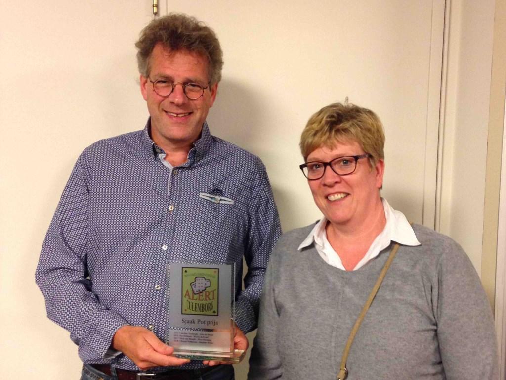 Winnaars S. Pot aanmoedigingsprijs. Foto: Ina van der Zee © Persgroep