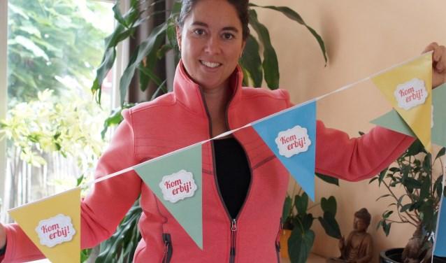 Lotte Ruyten staat in de startblokken voor de Week tegen de Eenzaamheid. Ze nodigt iedereen uit om aan activiteiten deel te nemen.