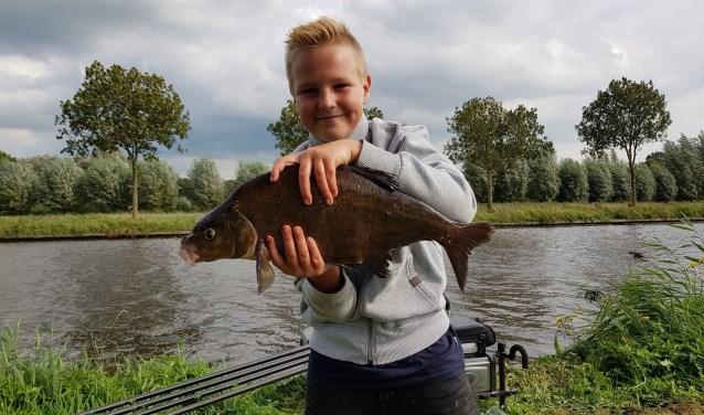 Luc Berends werd zaterdag Nederlands kampioen. (Foto Dick Berends).