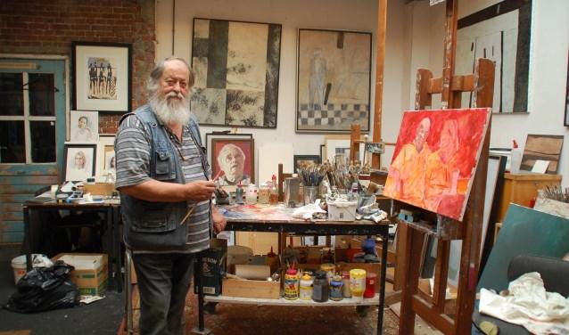 Tijdens de Atelierroute op 15 en 16 september is iedereen welkom in het atelier van Prasadam. (Foto: Rens van Ginneken)