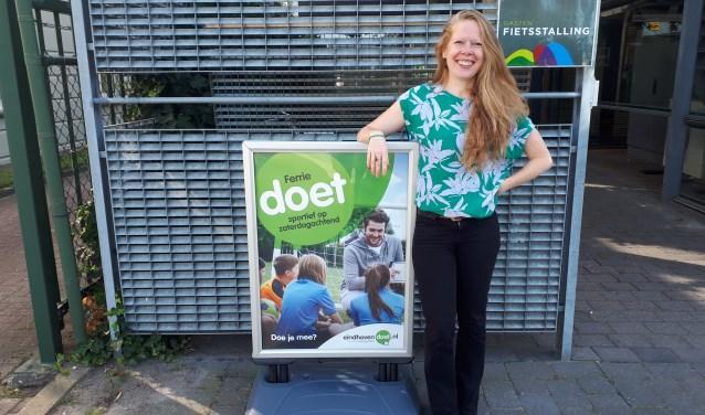 Diana van den Eijnden zet zich in voor vrijwilligers.