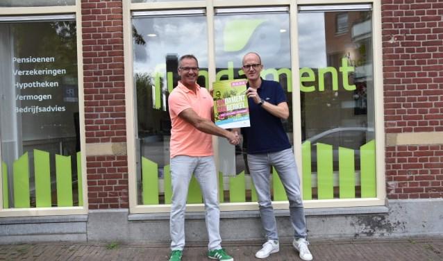 Rob de Hair (links) samen met Norbert de Boer (rechts).