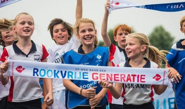 Het aantal rookvrije sportclubs in Utrecht is in 2018 flink toegenomen.