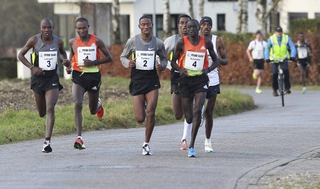 Mutai tijdens Montferland Run 2012
