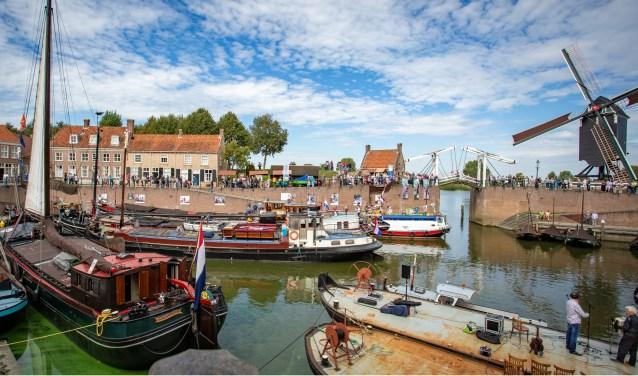 De Heusdense haven was het afgelopen weekeinde het decor voor de eerste editie van de Heusdense Havendagen.