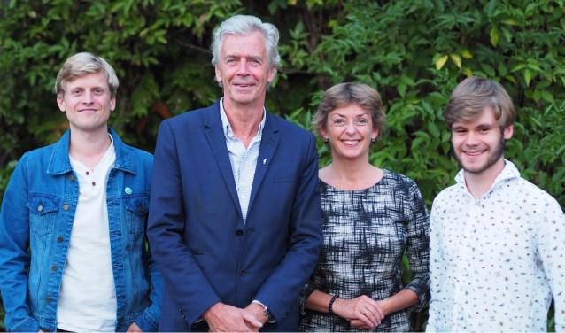 Daan Dobber, Jur van der Lecq, Andrea Zierleyn, Felix Ooteman.