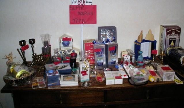 koopjestafel Israel producten