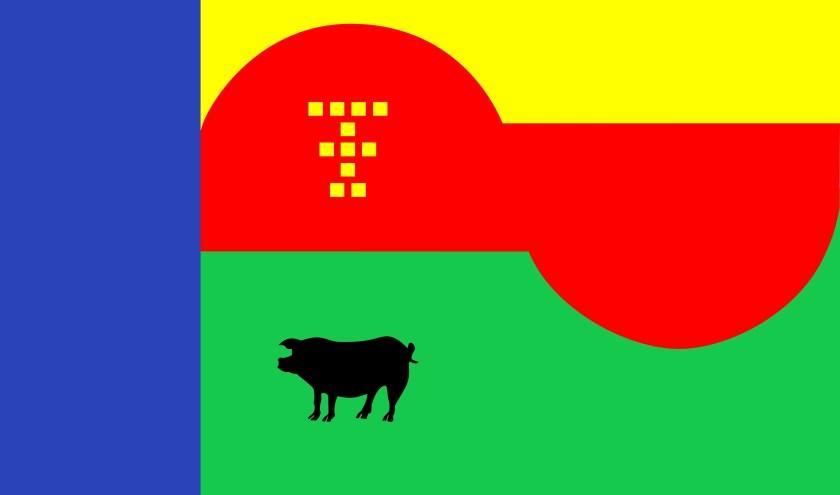 Vlag Tienhoven Toontal
