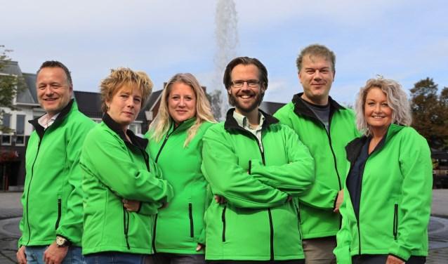 Marcel Bonte, Toni Kattenburg, Nicole Bruitzman, Freek van der Heide, Sander Klugt en Verra van Ommeren gaan een hoogwaardig en vernieuwend cultureel evenement organiseren. Eigen foto