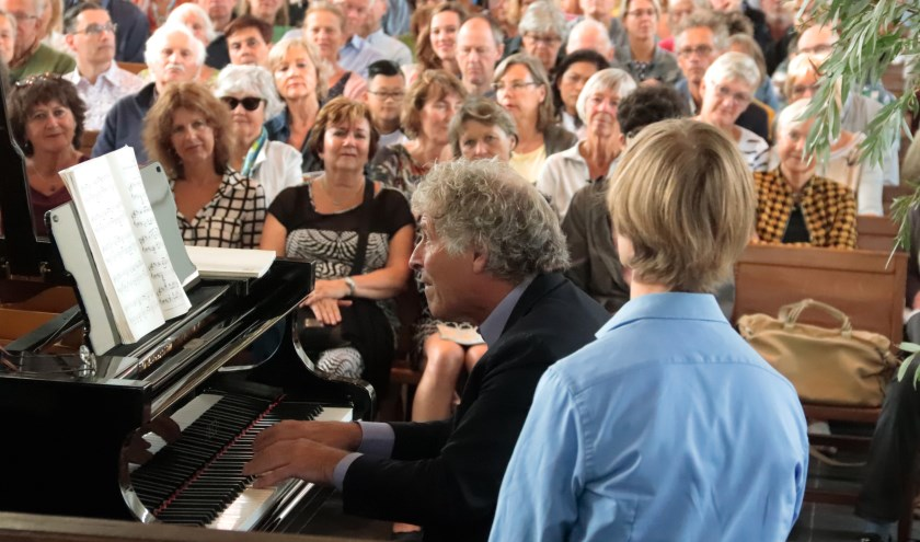 Marcel Worms opende de pianowandeling in Culemborg