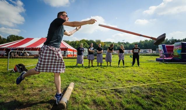 De Pinse Highland Games in de Wouwse Plantage vorig jaar. Foto: Kees Nouws.