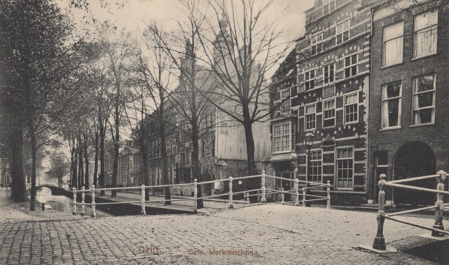 De Oude Delft vroeger.