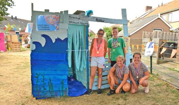 De aquariumhut won de eerste prijs. Foto: Arie van Noordenne
